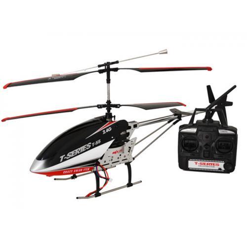 Радиоуправляемый вертолет MJX T55/T655 Thunderbird 2.4G RTF (LCD, 71 см)