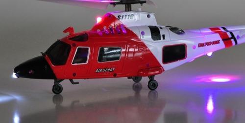 Радиоуправляемый вертолет SYMA S111G (гироскоп, подсветка, мини)