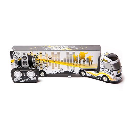 Радиоуправляемый грузовик (фура) с прицепом - QY0201A (длина 49 см)