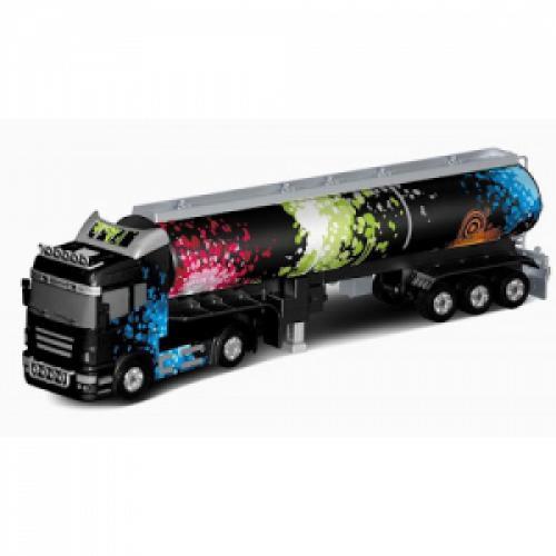 Радиоуправляемый грузовик (фура) с прицепом (49 см)