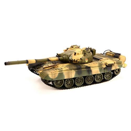 Радиоуправляемый танк T72 Russian Camouflage 2.4G (пневмопушка, звук, свет, 3 скорости, 42 см)