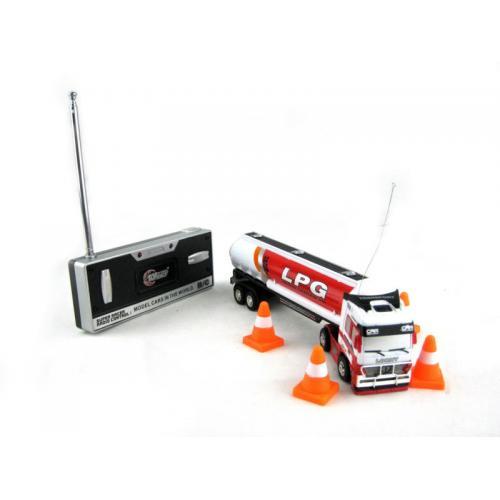 Радиоуправляемый грузовик бензовоз 1:96