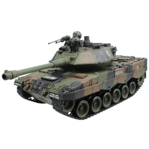 Танк радиоуправляемый German Leopard 2 песочный 1:20 4101-12 (стрельба шариками, 35 см)