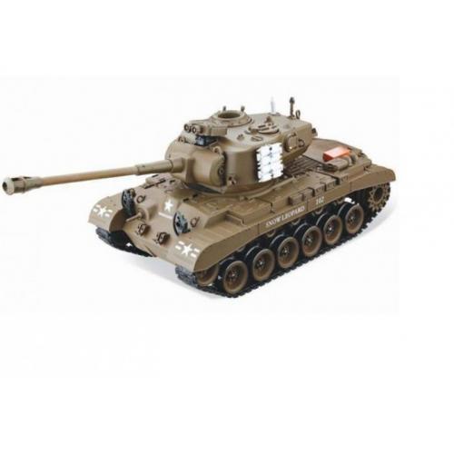 Танк радиоуправляемый Pershing (Snow Leopard) коричн. 1:20 (35 см)