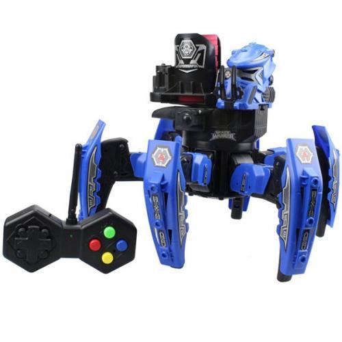 Робот-паук на пульте (красный, синий) + АКК и ЗУ Wow Stuff 9007-1