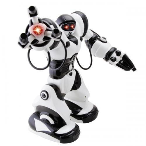 Радиоуправляемый робот - танцует, ходит, спит (36 см, свет, звук, датчики)