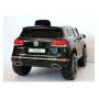 Детский электромобиль Volkswagen Touareg, черный (3 скорости)