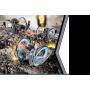 Радиоуправляемая боевая машина Space Warrior 2.4GHz (лазер, диски)