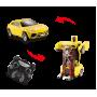 Радиоуправляемая машина робот-трансформер (свет, звук, 20 см, желтый)